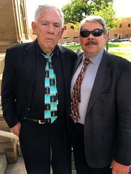 Mike Francis and Eddie Erickson
