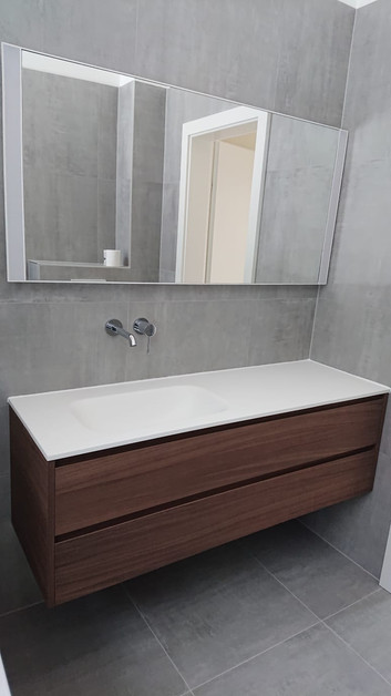 Salle de bain et vasque
