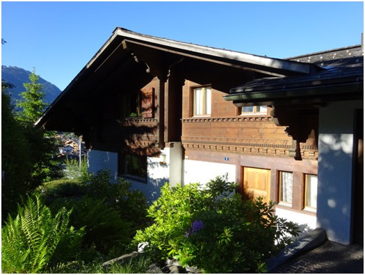 Extérieur villa à Gstaad