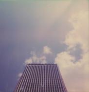 Haut de la tour Pleyel.