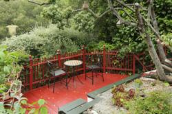Private Garden Deck