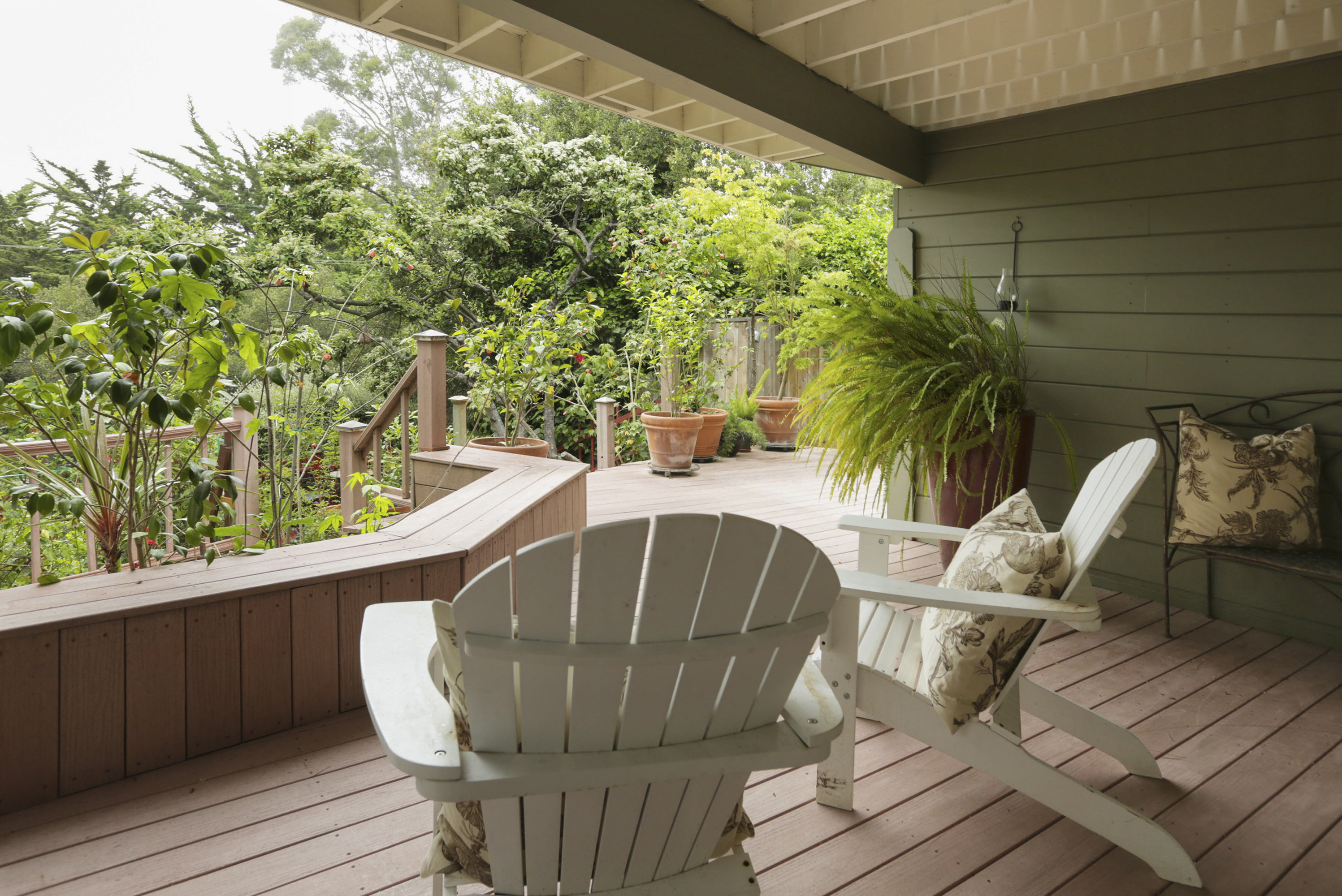 Garden Deck, Lower Level