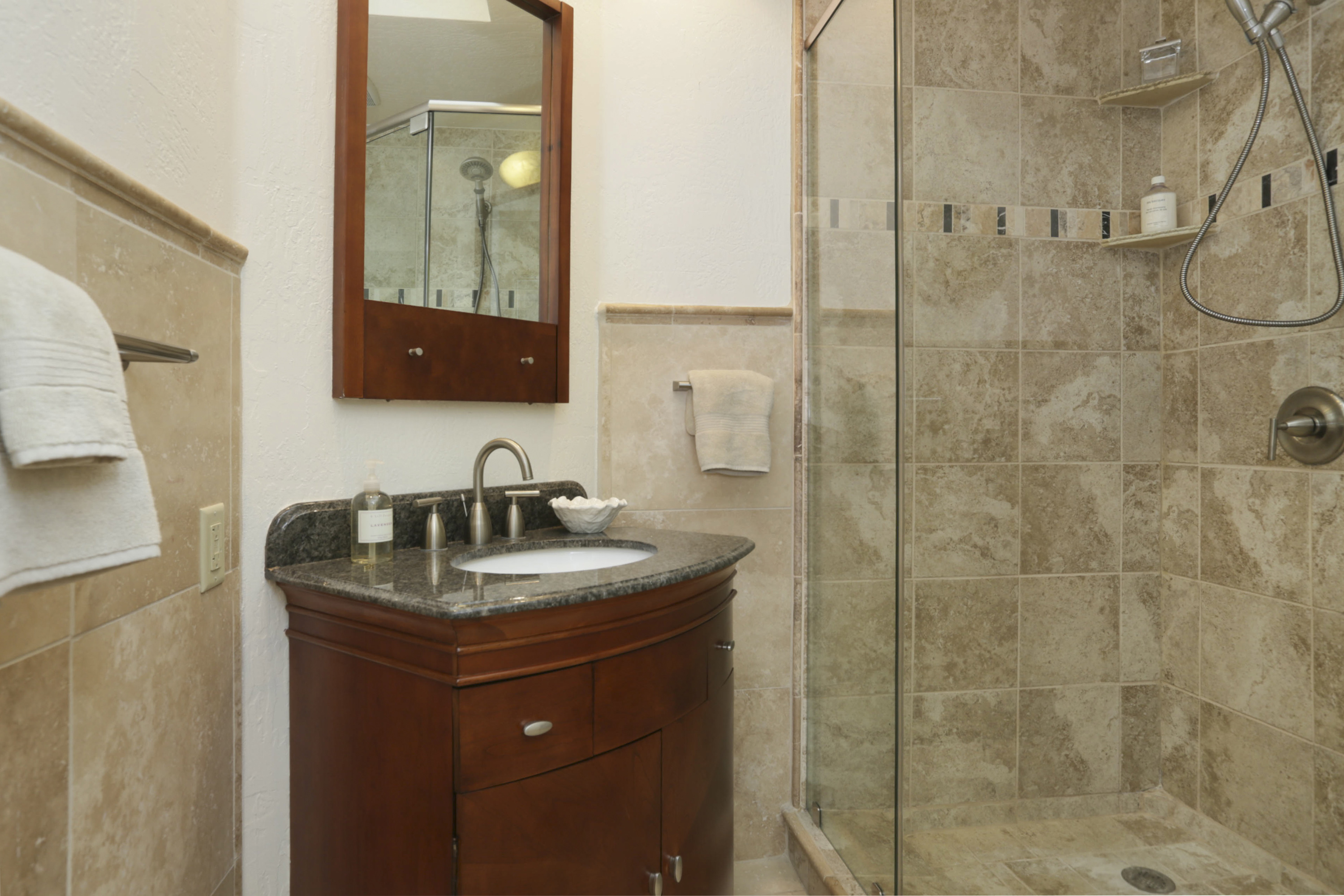 Bathroom with Shower, Lower Level