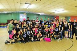 071815 vs Fort Stewart Rollergirls