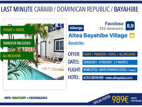 Bayahibe / 989€ [7 nights] All inclusive