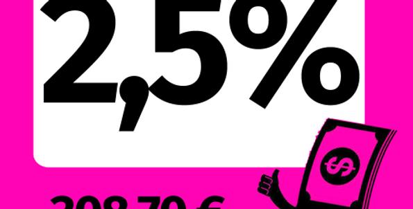 2,5% Shares ALANNDOG