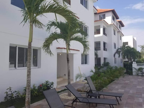 One bedroom apartment 55sqm with swimming pool located in Bayahibe