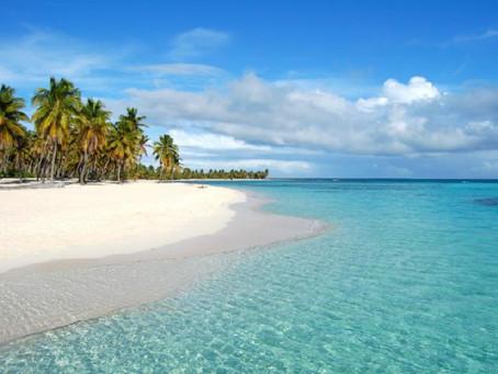 Saona Island: canto de la playa