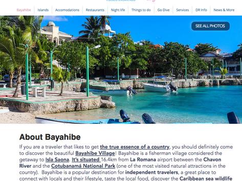 Bayahibevillage.com: new upgrade!