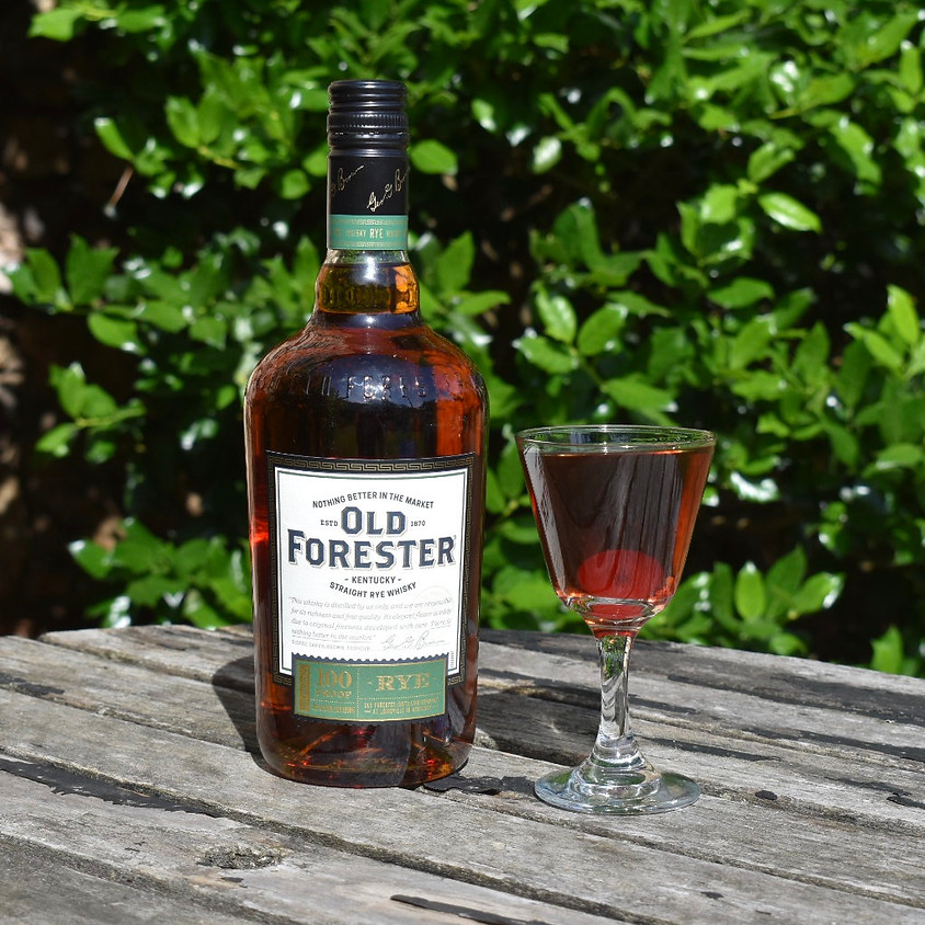 Old Forester Cocktail Series: Manhattan Variations, Part 1/4