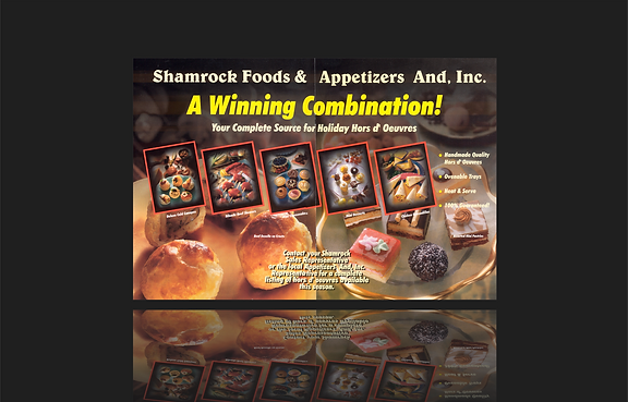 Magazine Ad for Shamrock Foods, Denver C