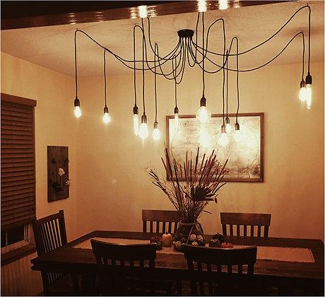 Люстра на 12 лампочек