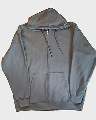 Grey Zip Up Hoodie Front.png