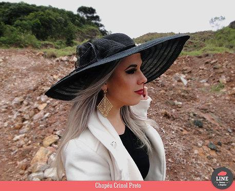 Chapéu de Crinol Preto