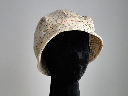 Chapéu em Algodão Floral