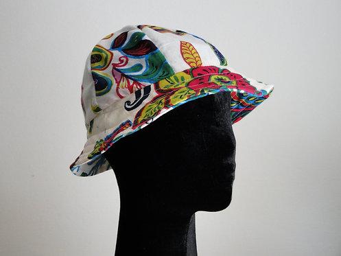 Chapéu de Algodão Floral