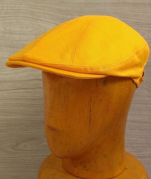 Boina gatsby de sarja amarelo alaranjado