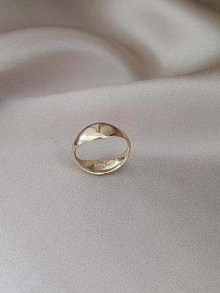 Double Signet Ring
