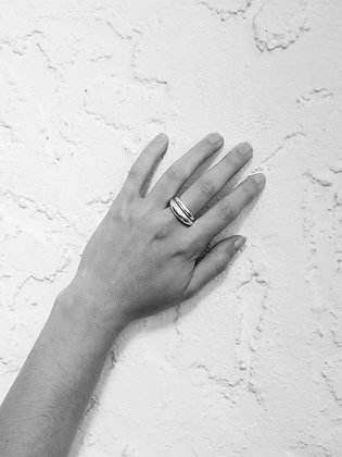 Crescent Ring Set I