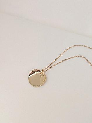 Hand-formed Medallion Pendant