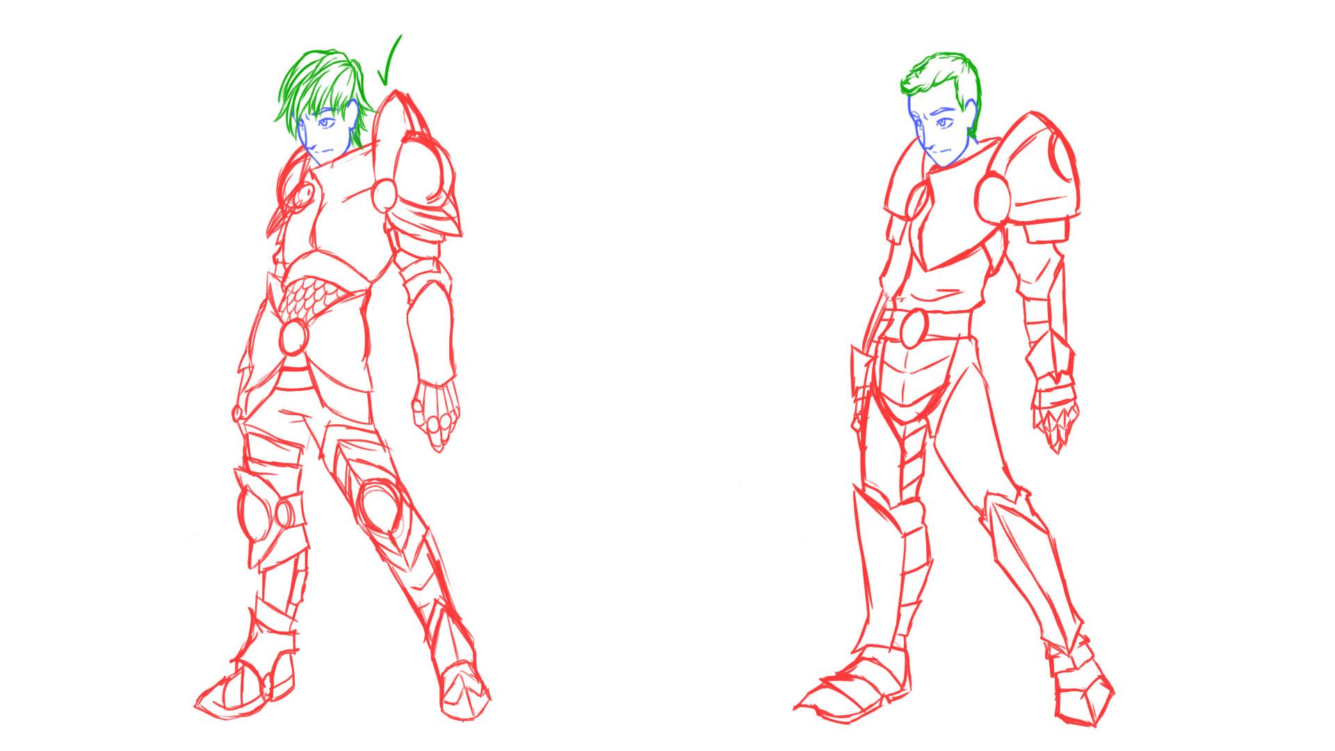 Nick: Armor Concept 1