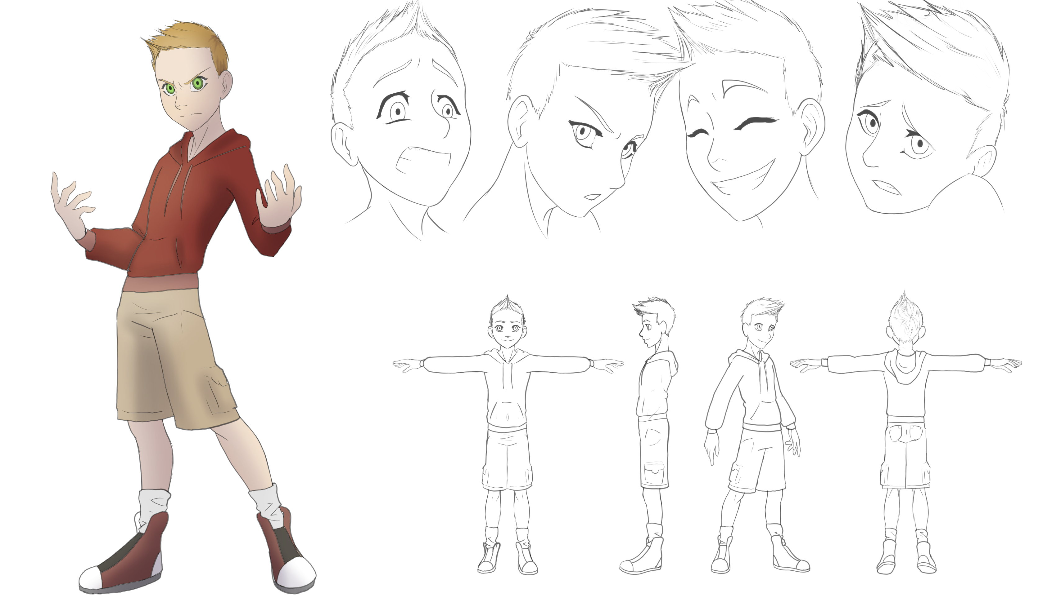 Jake Character Sheet Clothes