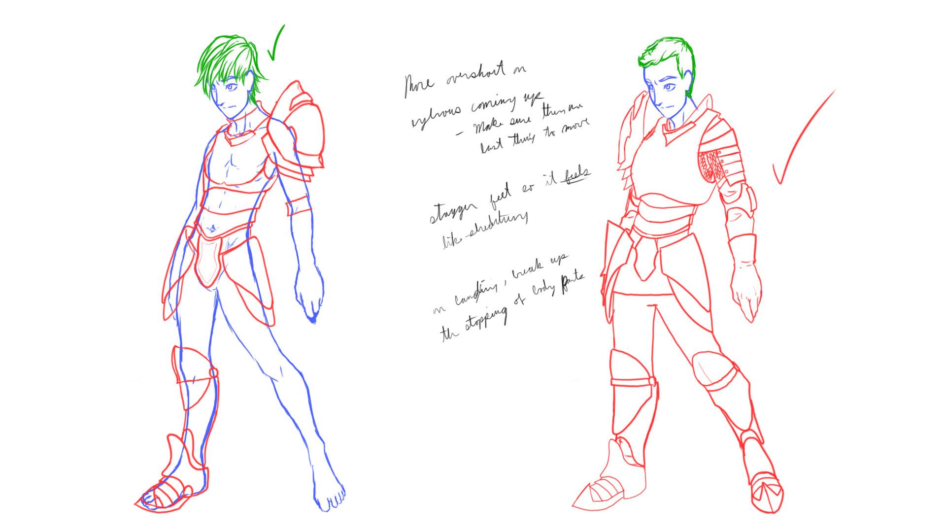 Nick: Armor Concept 3