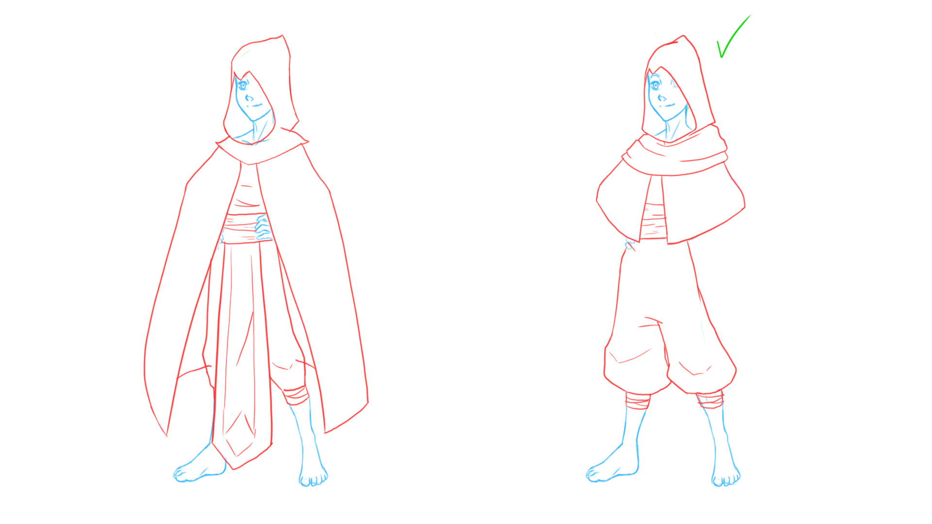 Jake: Robes Concept 1