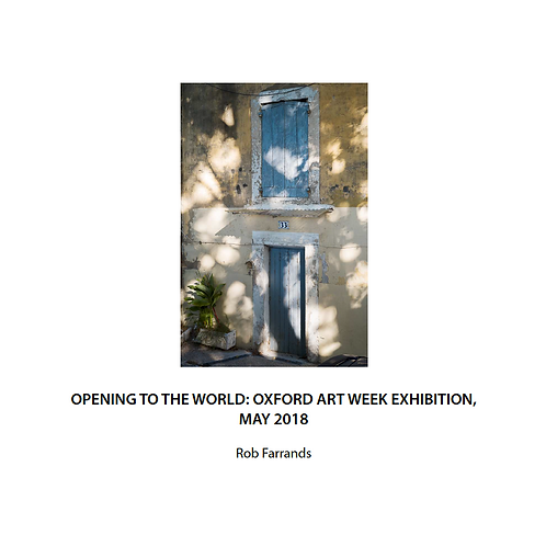 Catalogue of the Opening to the World Exhibition