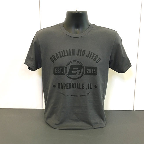 Grey / Black - University Shirt