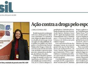 BRASÍLIA GANHA DESTAQUE INTERNACIONAL COM PROGRAMA DE ESPORTE CONTRA DROGAS EM CENTROS OLÍMPICOS