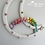 Thumbnail: Pastel Rainbow Speckled Super Moon Wall Hanging - 30cm