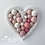 Thumbnail: Small Heart Hanging 12cm - 3 Colours Available