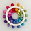 Thumbnail: Rainbow Sun Wall Hanging - 14.5cm - Letterbox Gift