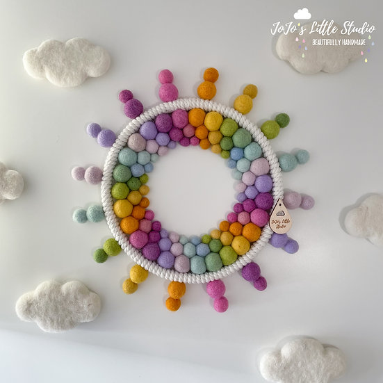 27cm Tutti Frutti Rainbow Sunshine
