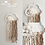 Thumbnail: Special Large Cloud Sari Silk Wall Hanging - 20cm - Ivory Oatmeal Sand