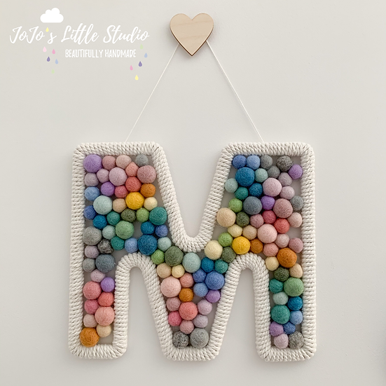 Hanging Letter/Initial - Custom Colours