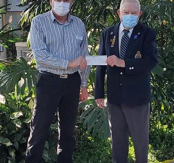 RCMP Veterans Association Central Vancouver Island donates $500