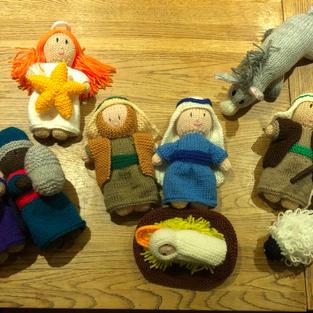 Nativity Scene by Louise