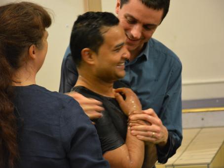 An Advent Baptism