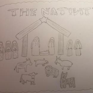 Nativity Scene by Ruth