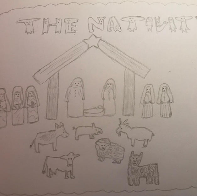 Nativity Scene by Ruth