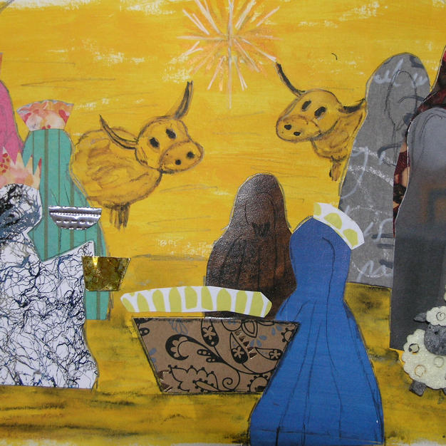 Nativity Scene by Jackie