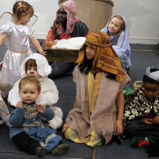 Nativity Scene Bloomsbury Central Baptist Church
