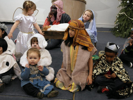Toddlers' Nativity
