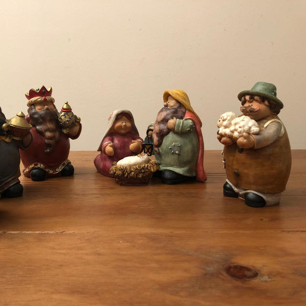 Nativity Scene by Keith