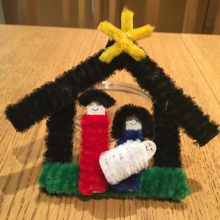 Nativity Scene by Hazel