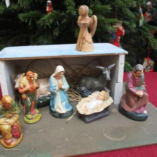 Nativity Scene by Sandy