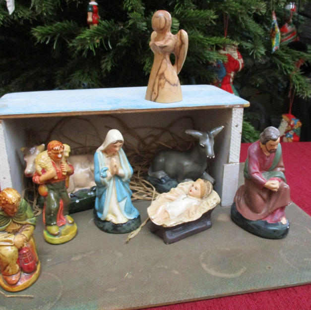 Nativity Scene by Sandy