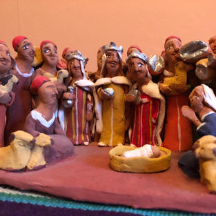 Nativity Scene by Michael and Cathy
